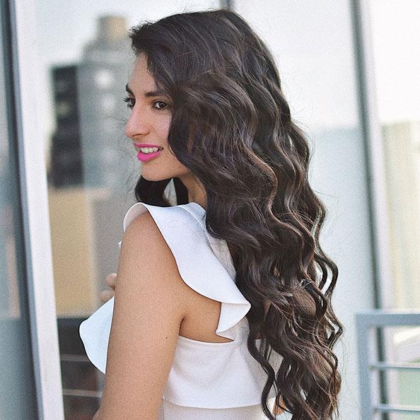 Haleine de cheveux frais